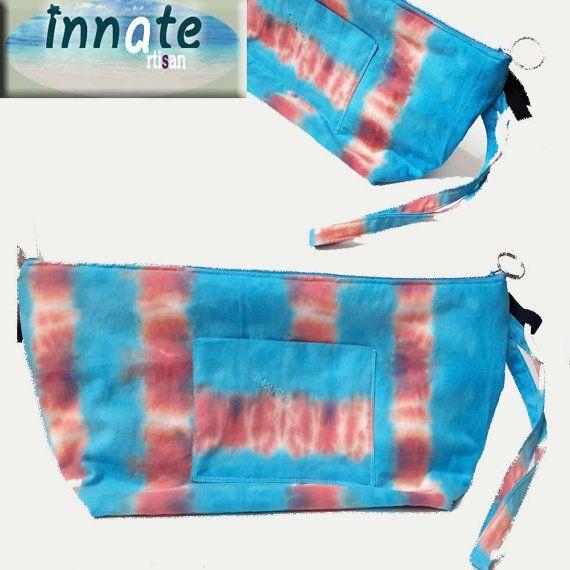 Hair dryer big tie dye bag by InnateArtisanSoap on Etsy