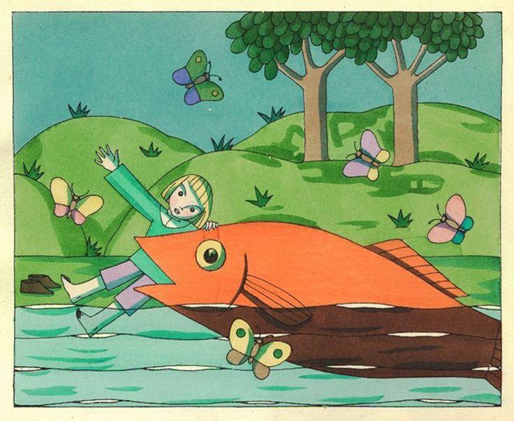 La trágica vida de la sobrina de Freud que ilustraba libros para chicos