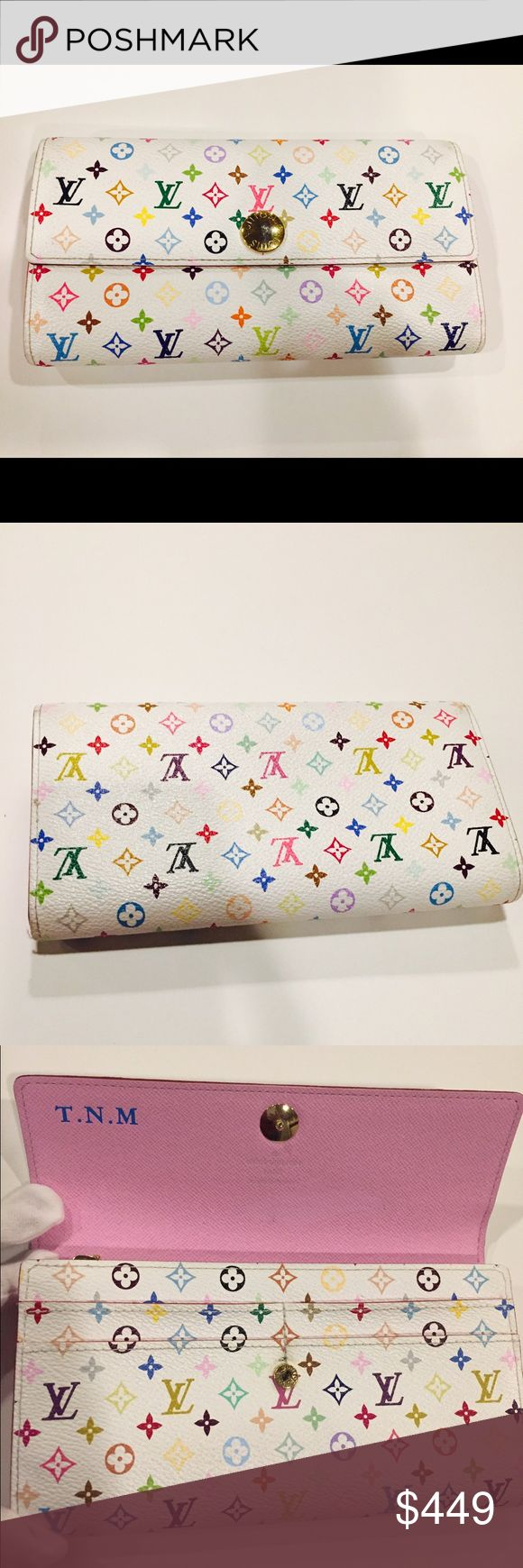 Spotted while shopping on Poshmark: Authentic Louis Vuitton Multicolor Sarah Wallet! #poshmark #fashion #shopping #style #Louis Vuitton #Handbags