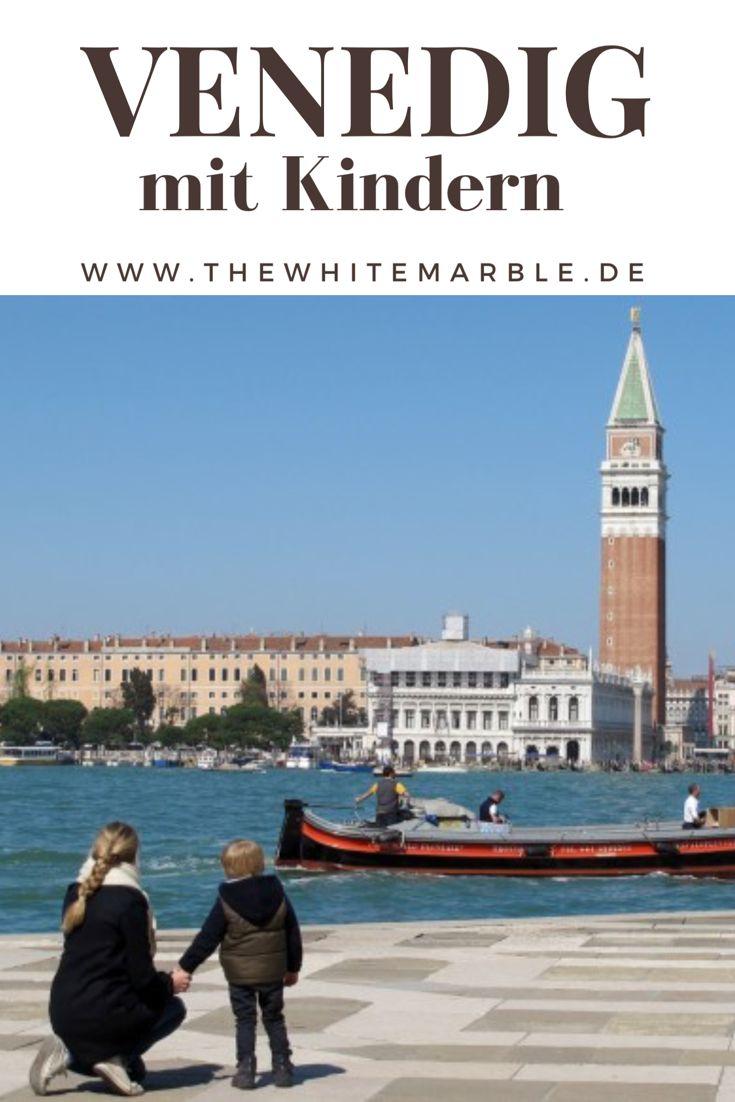 Venedig mit Kindern - eine sinnliche Erfahrung! Die besten Tipps zu Anreise, Unterkunft und Verpflegung. Speziell für Familien mit kleinen Kindern.