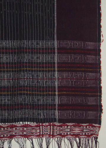 Indonesia-Ulos-Sumatra-Batak-Ikat-Hand-Woven-Handmade-Textile-Cloth-fabric-ga88