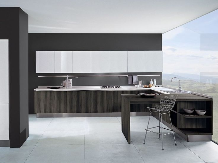 TOUCH Wooden kitchen Touch Collection by Oikos Cucine design Massimo Colombo