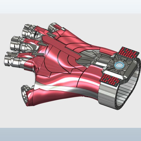 Iron man watch glove 3D model Youtube video https://youtu.be/9evYvV9vSVY