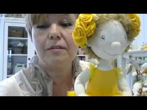 Мастер класс шитье куклы. Елена Войнатовская - YouTube