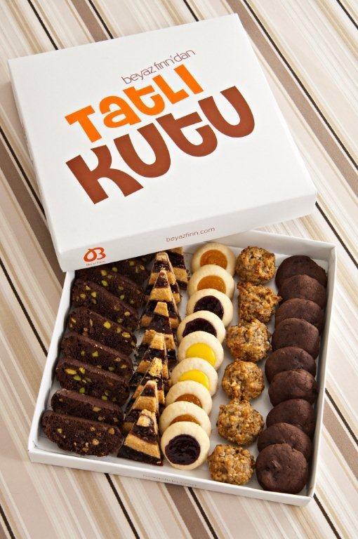 Tatlı kutu-kurabiye