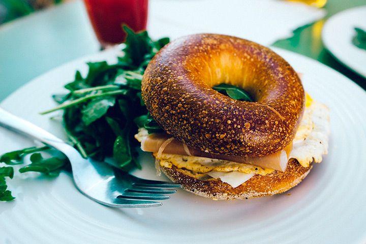 Bagle sandwich