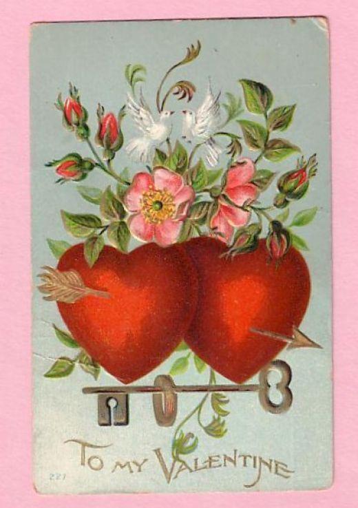 2301 best Vintage Valentines images on Pinterest  Draw Angels
