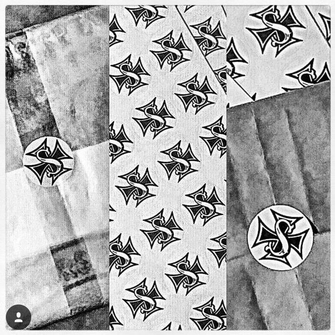 mais um sobrevivente que receberá a sua em casa...... #presente #natal #camisetas #regatas #estilo #atitude #cultura #praia #verão #sol #sal #surf #skate #tattoo #gasolina #cultura #california #santos #caiçara #oldschoolbeachbums #survivorskustoms