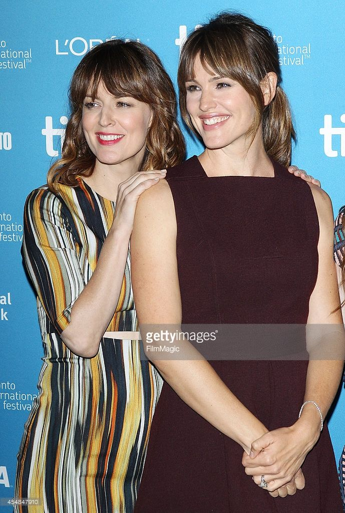 Rosemarie DeWitt and Jennifer Garner arrive at the photo call of Men, Women and Children held during the 2014 Toronto International Film Festival - Day 3 on September 6, 2014 in Toronto, Canada.