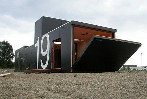 Prefab Cabins, Small Houses   Prefab House No19   Busyboo