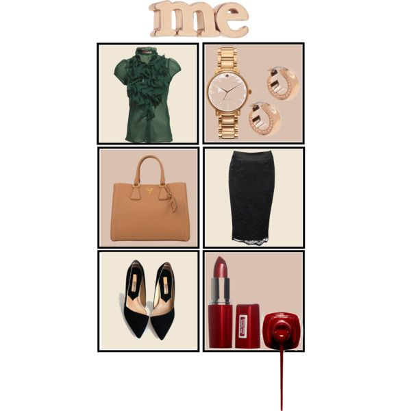 I am going to work. by lamoda on Polyvore