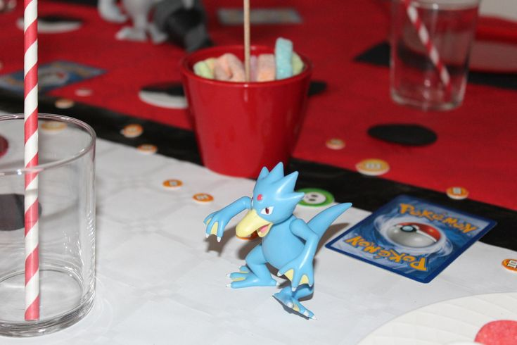 Un anniversaire Pokemon !!!