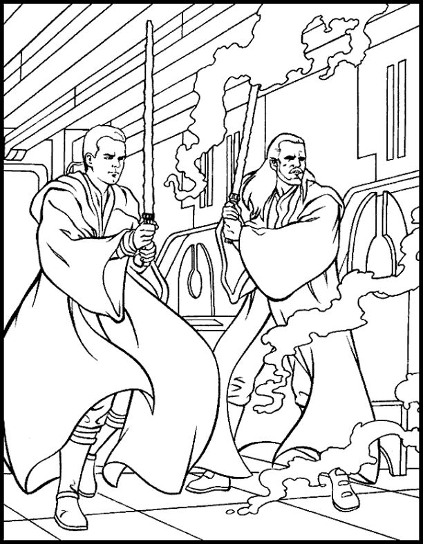 91 best coloring star wars images on pinterest for Count dooku coloring pages
