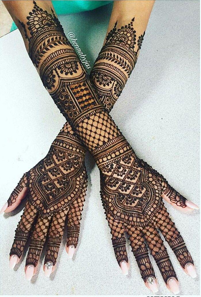 bridal mehndi back design