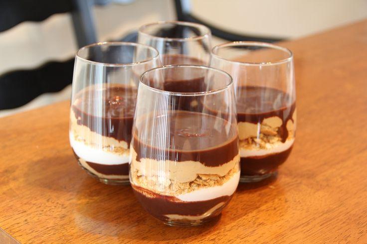 Chocolate Peanut Butter Parfait | Desserts!!! Yummy | Pinterest