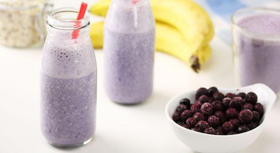 Banana and Blueberry Smoothie Recipe - weightloss.com.au