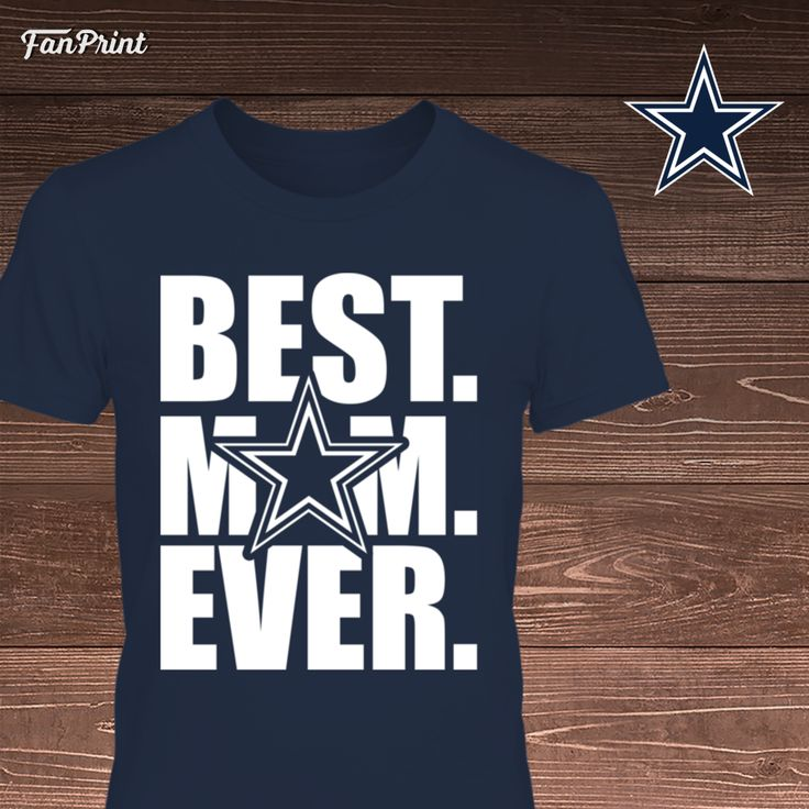 Check out these Dallas Cowboys Limited Edition shirts and other apparel! Click on the image. Have fun! :) - Dallas Cowboys - Best Mom Ever https://www.fanprint.com/cowboysbestmomever?ref=5048