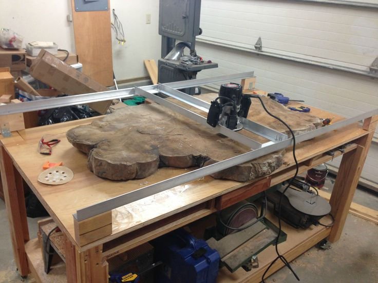 Cheap and easy router sled