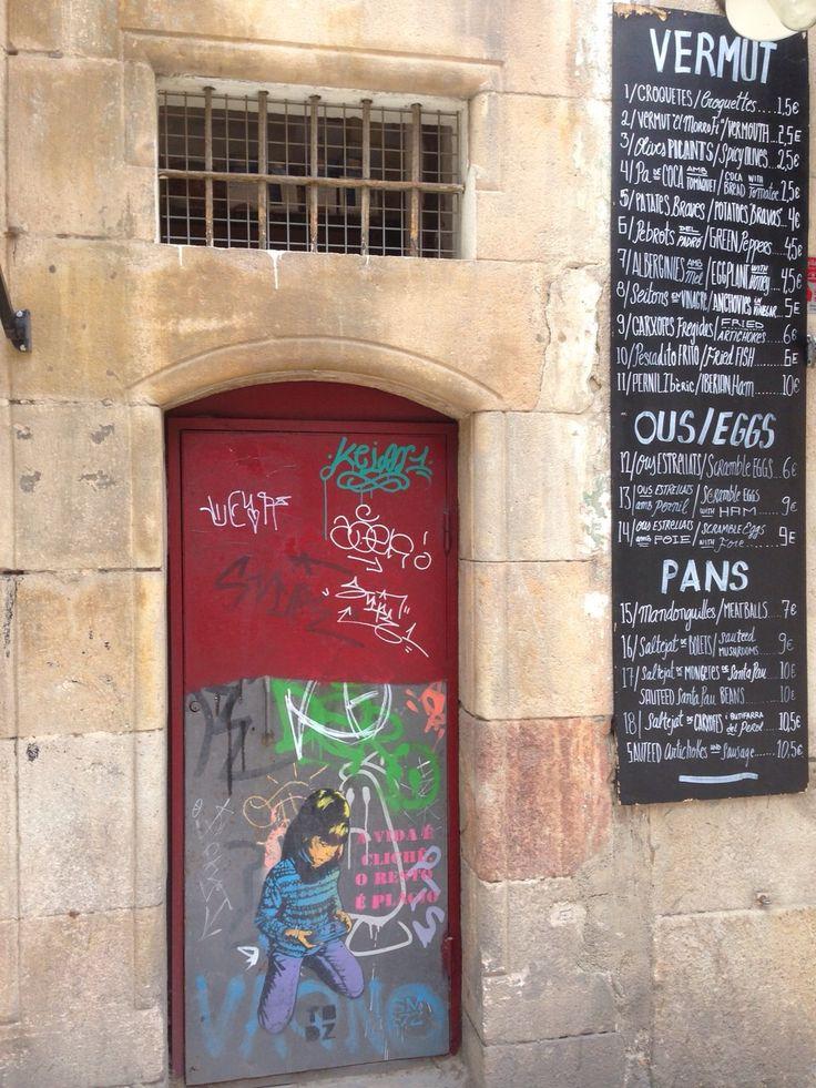 Arte urbano. Urban art!  #RestauranteBarcelona #UrbanArt