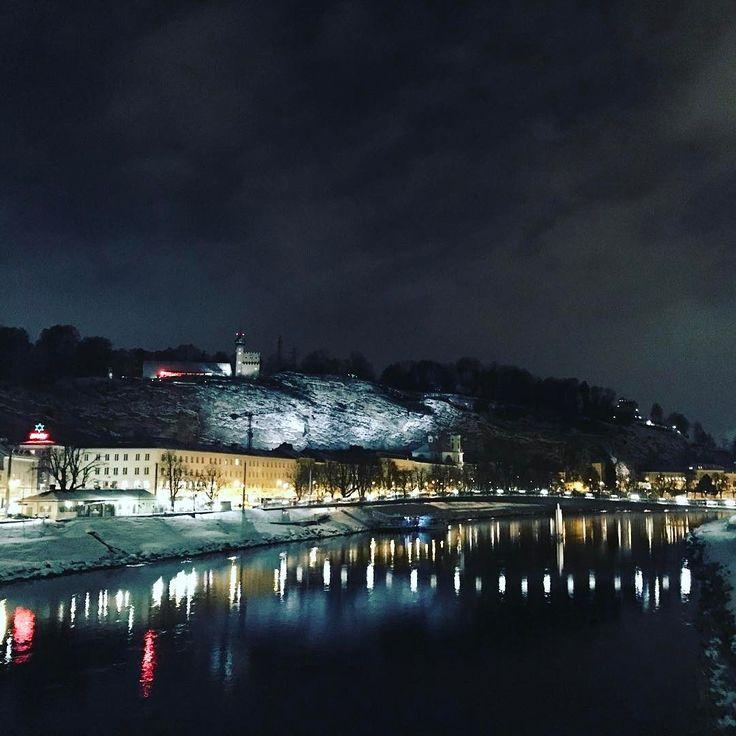 Зальцбург  Обычный провинциальный городок   #зальцбург #австрия #зима #путешествие #2k17 #gavri #austria #salzburg #travel #winter