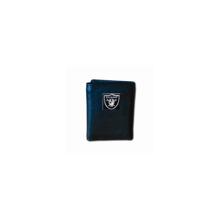 NFL Raiders Tri-fold Wallet - Embossing Personalized Gift Item