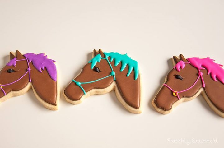 Cookie favors...horse cookies
