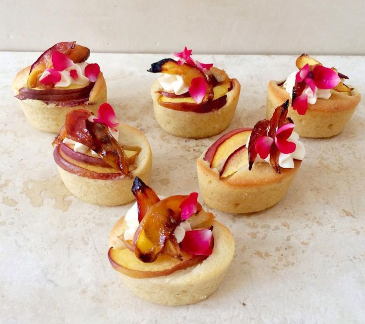 Plum and almond friands recipe from Lily Vanilli
