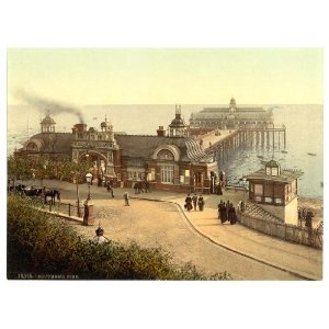 Victorian View of the Pier, Southend-on-Sea, England
