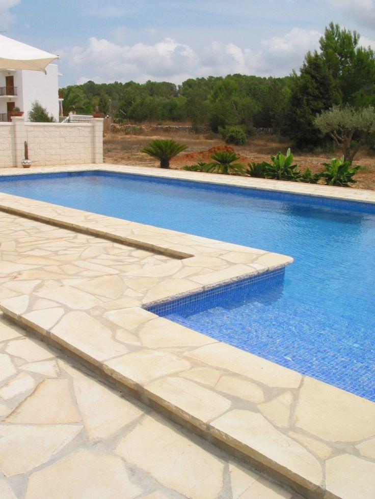 M s de 1000 ideas sobre piscinas de piedra en pinterest - Piedras para piscinas ...