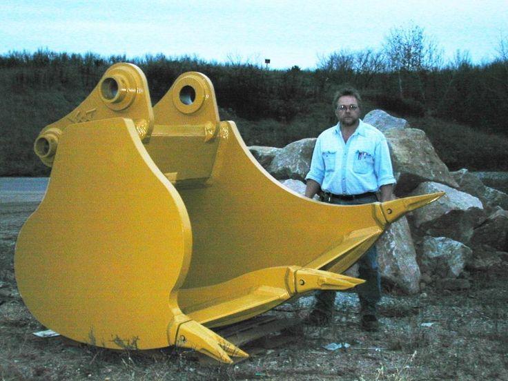 Hi Cap Multi Ripper Bucket For An Excavator Bucket