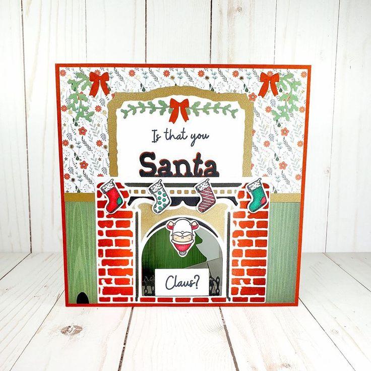 Gemini PeekABoo Christmas Stamp & Dies by Crafter's