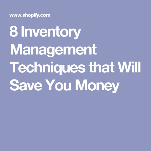 Warning You\u0027re Losing Money By Not Using These 8 Inventory