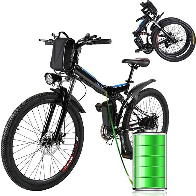 Eloklem E Bike Mountainbike Elektrofahrrad Mit 21 Gang Shimano Nabenschaltung 250w 8ah 36v In 2020 Elektrofahrrad Fahrrad E Bike