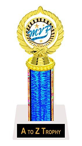 """MVP Trophy 9"""" Most Valuable Player Trophies Academic Achievement Education Games Sports Awards Free Engraving Color Choice  //Price: $ & FREE Shipping //     #sports #sport #active #fit #football #soccer #basketball #ball #gametime   #fun #game #games #crowd #fans #play #playing #player #field #green #grass #score   #goal #action #kick #throw #pass #win #winning"""