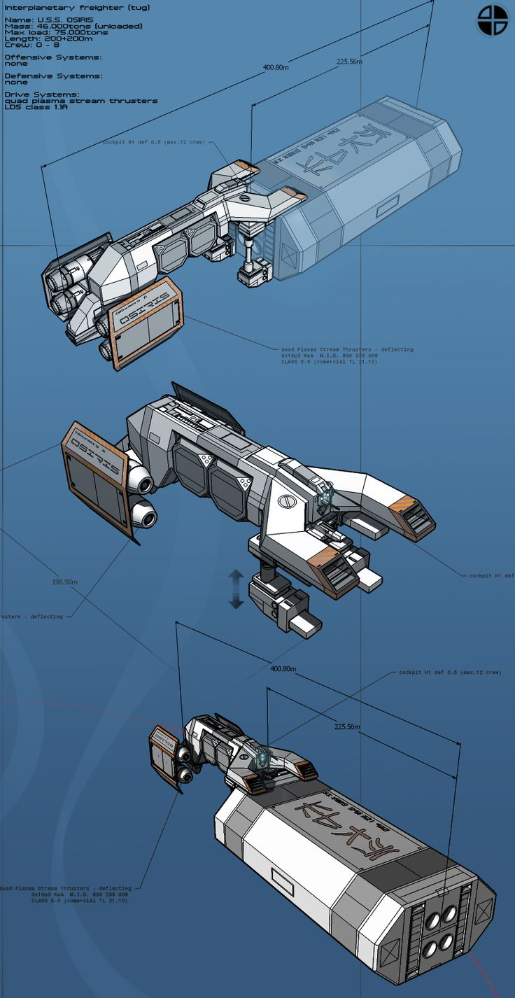 Osiris TUG01 by maxxdamage01.deviantart.com on @deviantART