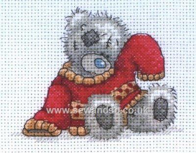 Buy My Red Jumper Cross Stitch Kit online at sewandso.co.uk