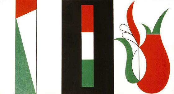 Korniss Dezső, Triptychon, 1947  http://hu.wikipedia.org/wiki/Korniss_Dezs%C5%91