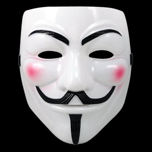 Anonymous Guy Fawkes V for Vendetta Mask