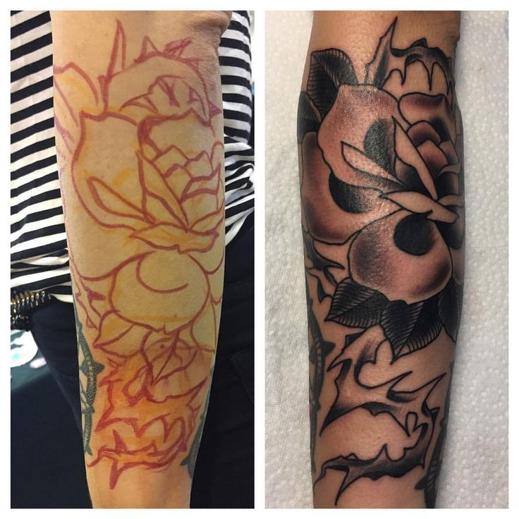 Neulich @tatconcircus @squidster_skinmarker in Mannheim. Danke Nadine. #tattoo #tattooed #tattooart #tattooink #tattooer #tattooist #tattooartistmag #ink #inked #inkedup #inktober #rose #rosetattoo #traditionaltattoo #tradtattoo #bold #boldlines #boldtattoos #mannheim #mainz #bacharach #koblenz #wiesbaden #mittelrhein #upperstreettattoo #markuslebektattoo #blackandgreytattoo #art #freehandtattoo