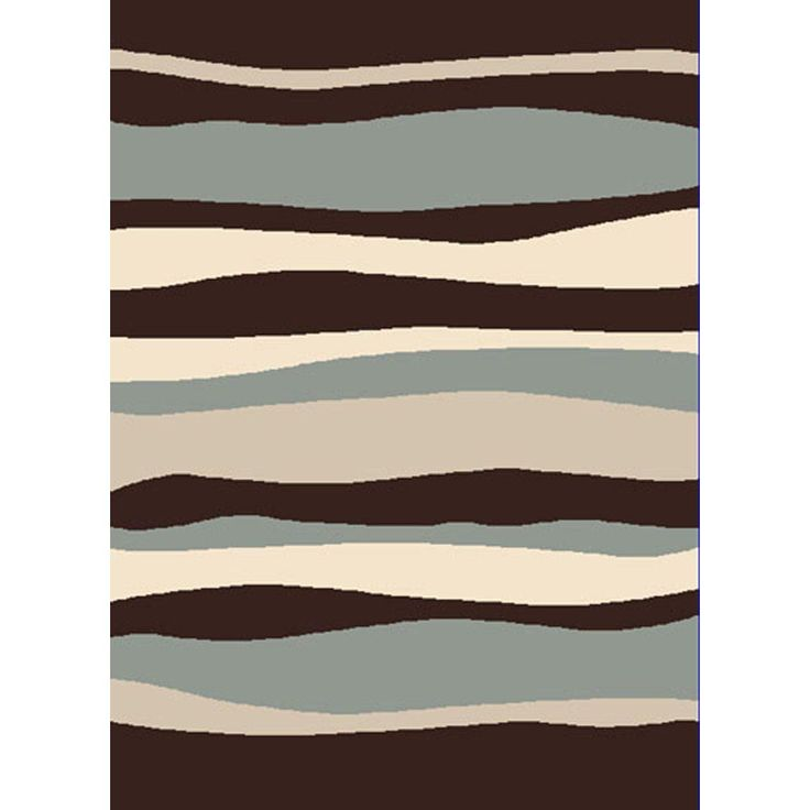 Home dynamix bazaar zag dark brown 7 ft 10 in x 10 ft 1 for Dining room rugs 7 x 10