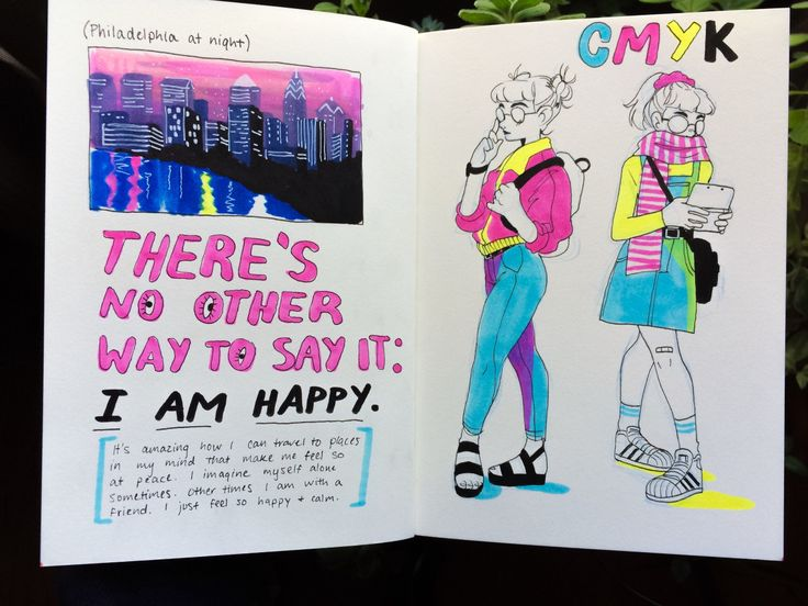 I did two spreads today. These are really important to me!