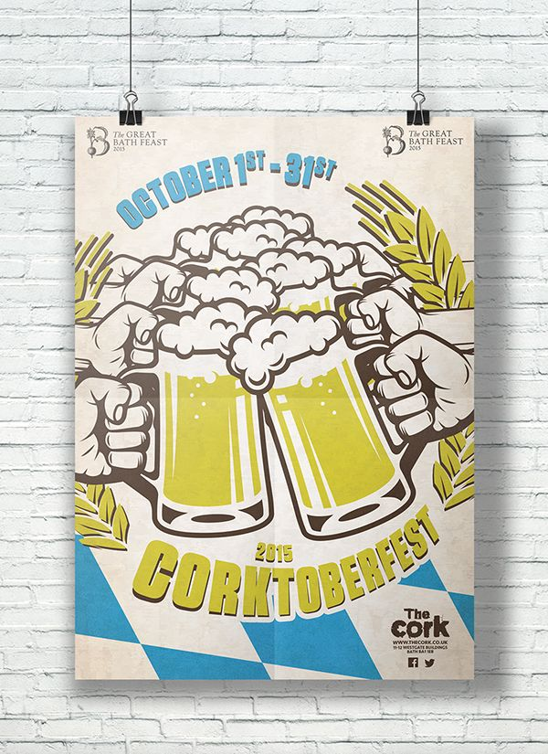 The Cork Corktoberfest 2015. https://www.behance.net/gallery/29955733/The-Cork-Corktoberfest-2015