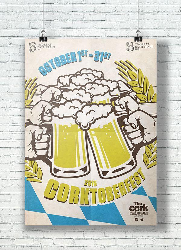 The Cork Corktoberfest 2015. https://www.behance.net/gallery/29955733/The-Cork-Corktoberfest-2015