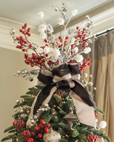 Xmas Tree Decorations With Ribbons: 22 Best Snowhaven Theme Images On Pinterest