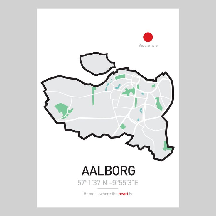 CITYMAP – AALBORG