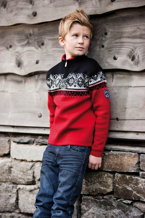 St. Moritz Children's sweater by Dale of Norway