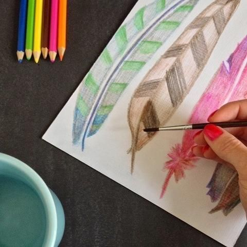 How To Use Watercolor Pencils Watercolor Pencil Art Watercolor