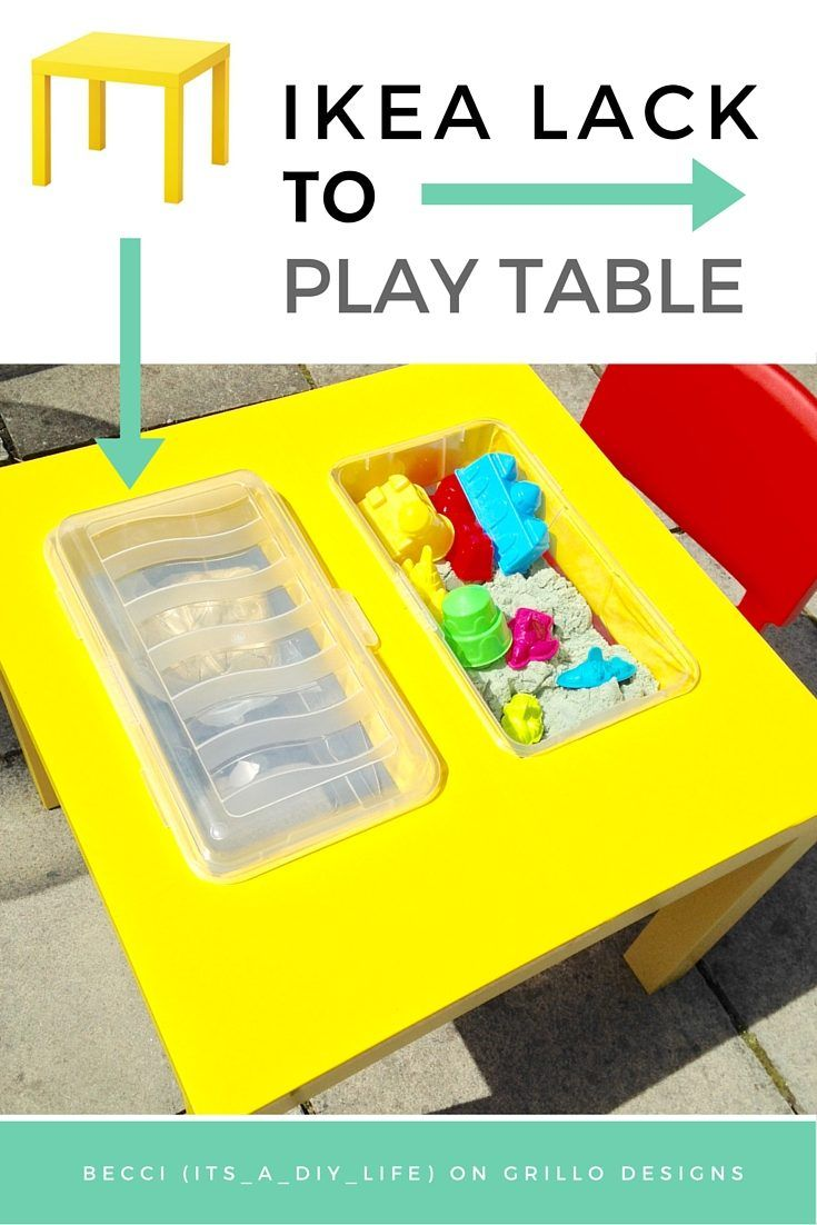 257 best kids furniture diy and more images on pinterest - Diy ikea lack table ...