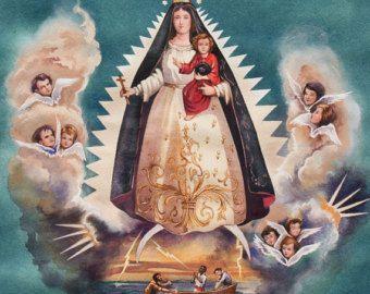 NEW La Virgen de la Caridad Alexander Henry by TheCraftyTree