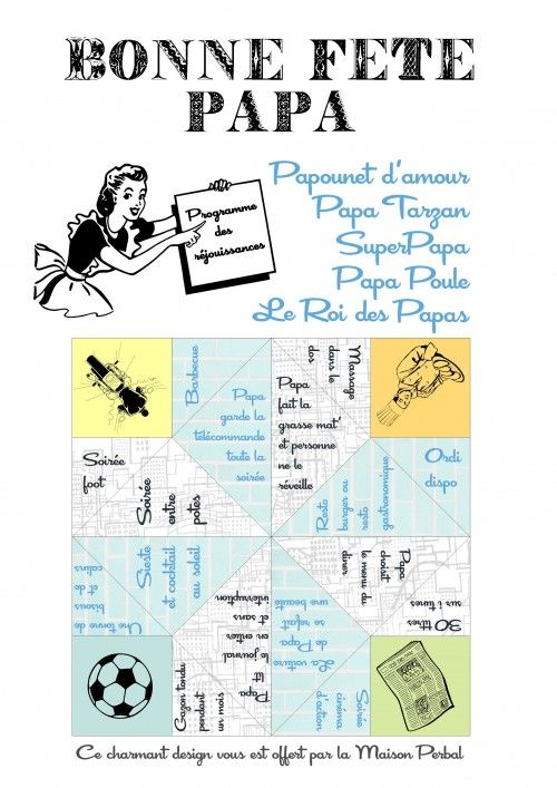Nice La Date De La Fete Des Peres #11: Imprimables, Cocottes En Papiers, Cocotte Des Désirs,étiquette  Personnalisée,fete Des Peres